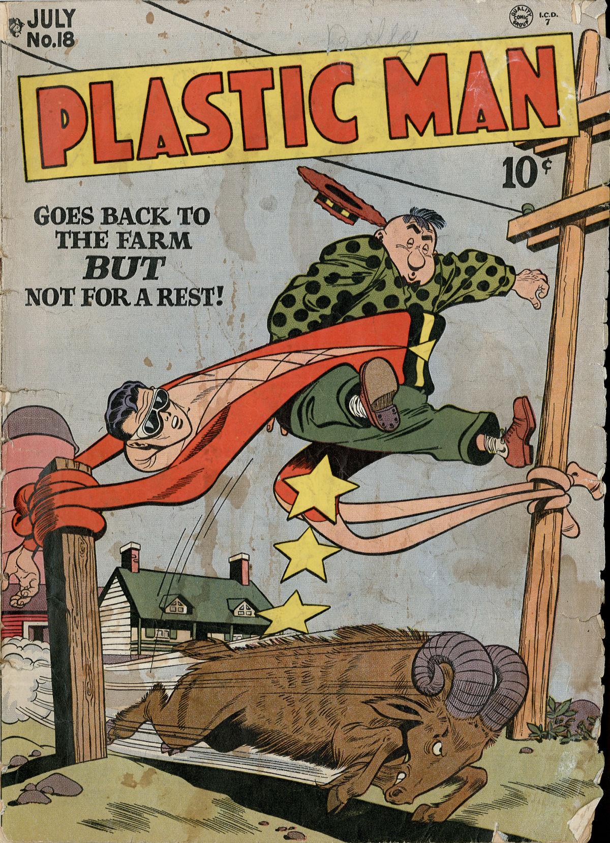 Plastic Man (1943) 18 Page 1