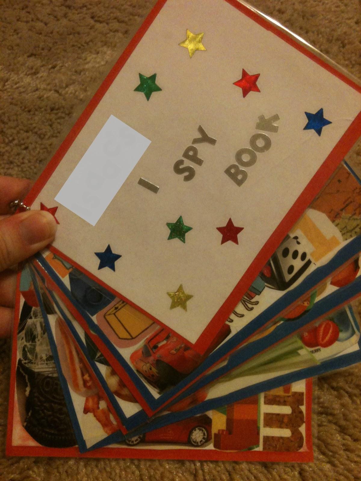 Creative Parenting Summer Activities I Spy Book