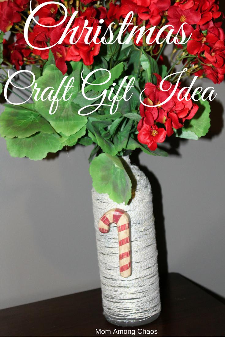 Mom among chaos christmas craft gift idea for Crafty christmas gifts