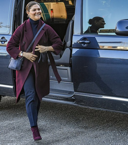 Crown Princess Victoria wore BY MALINA Trousers