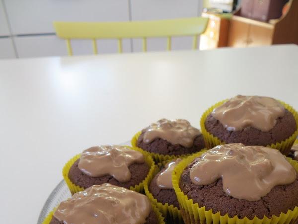 Helpot nougat-muffinssit