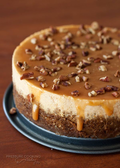 ... cooker pumpkin pecan cheesecake pressure cooking today instant pot