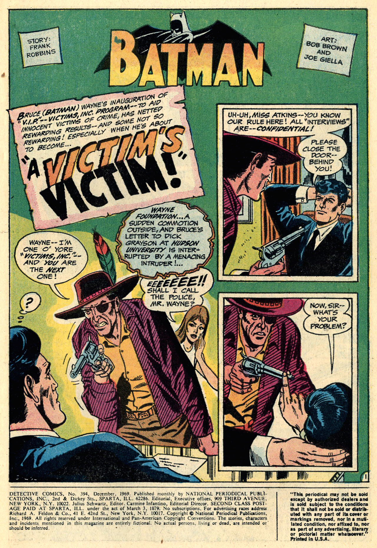 Detective Comics (1937) 394 Page 2