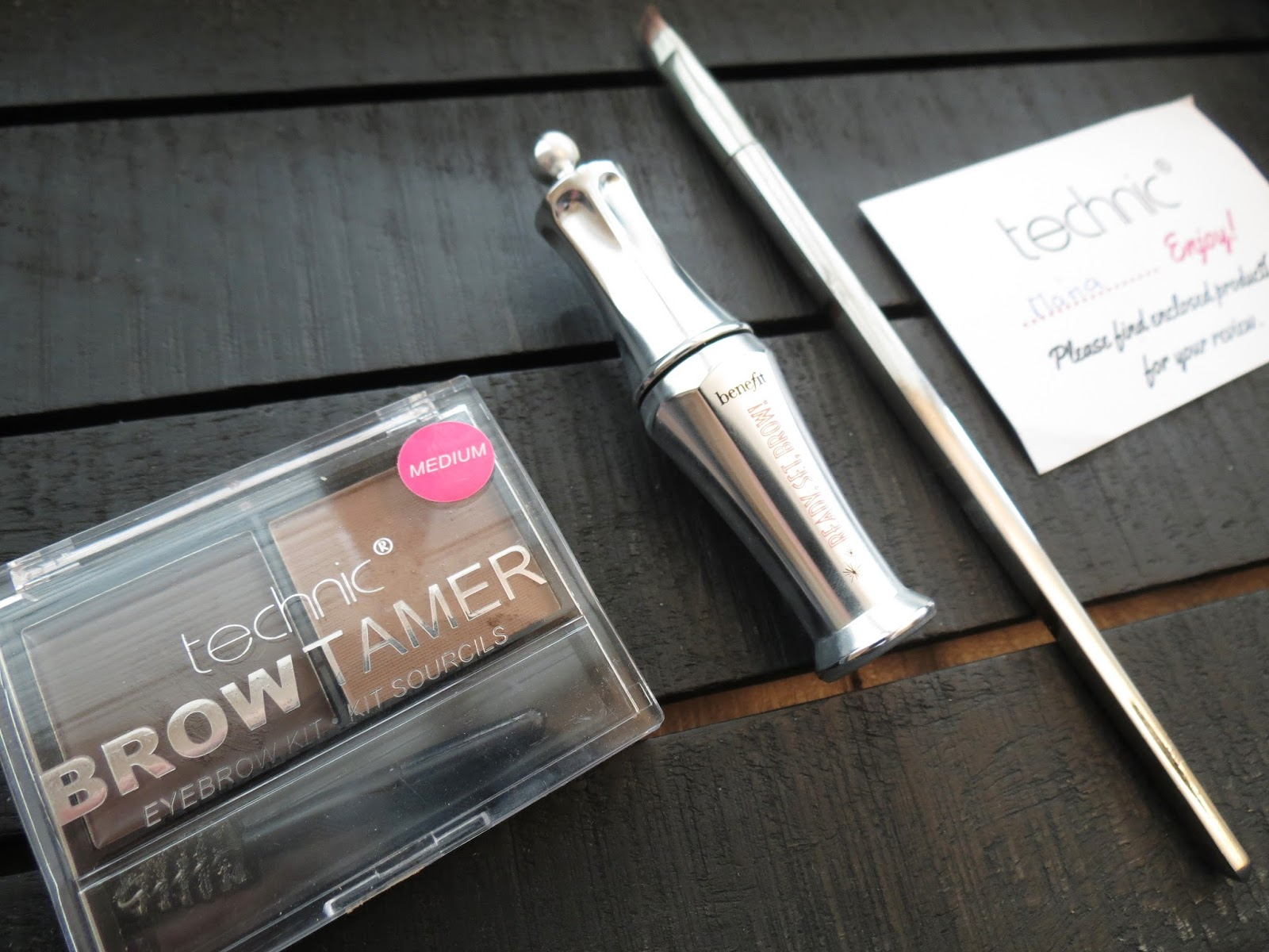 My Current Brow Routine Maria J