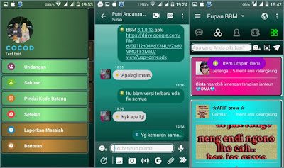 Download BBM Mod Unclone V3.1.0.13 Full Color Update terbaru