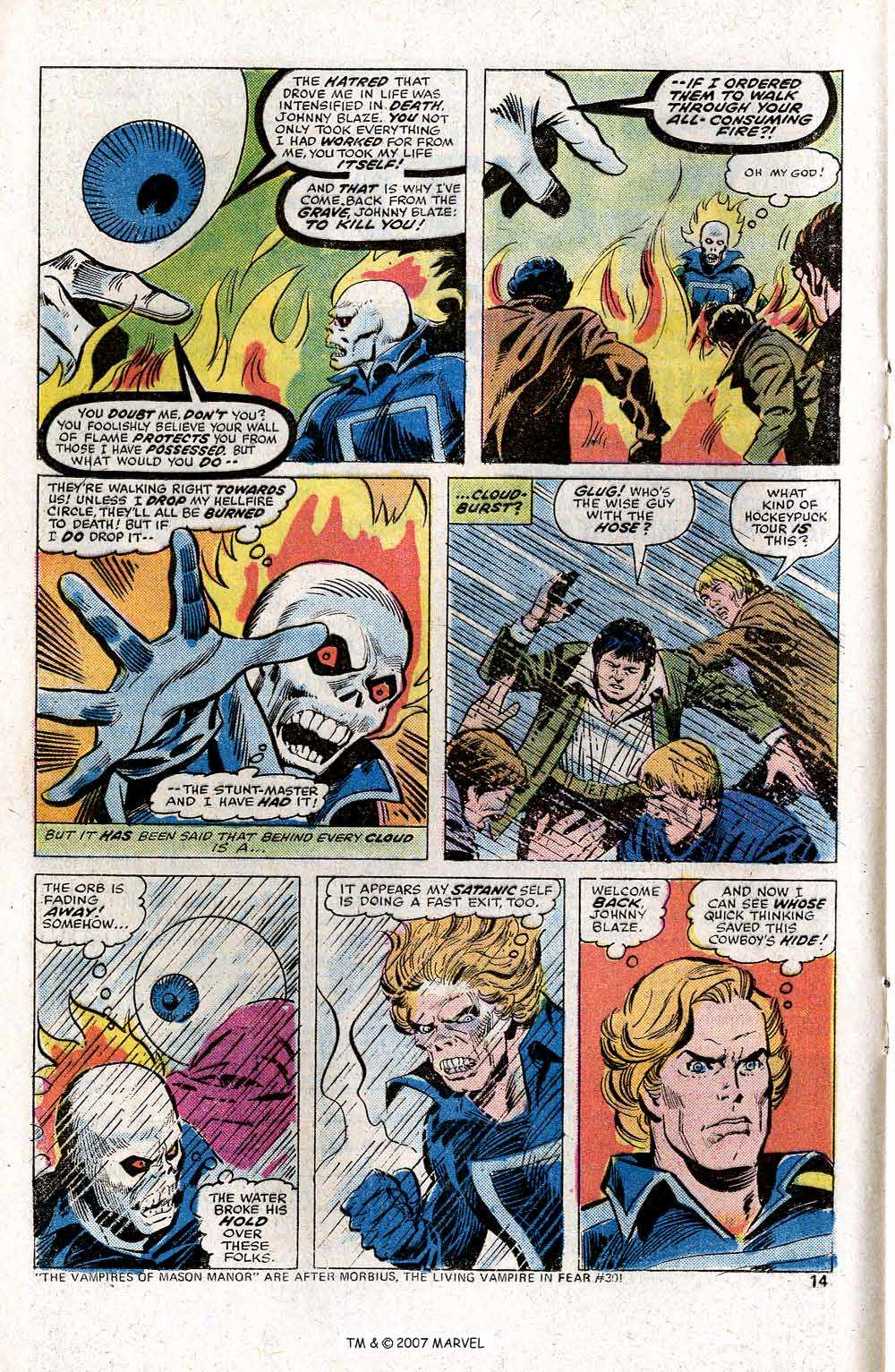 Ghost Rider (1973) Issue #14 #14 - English 16