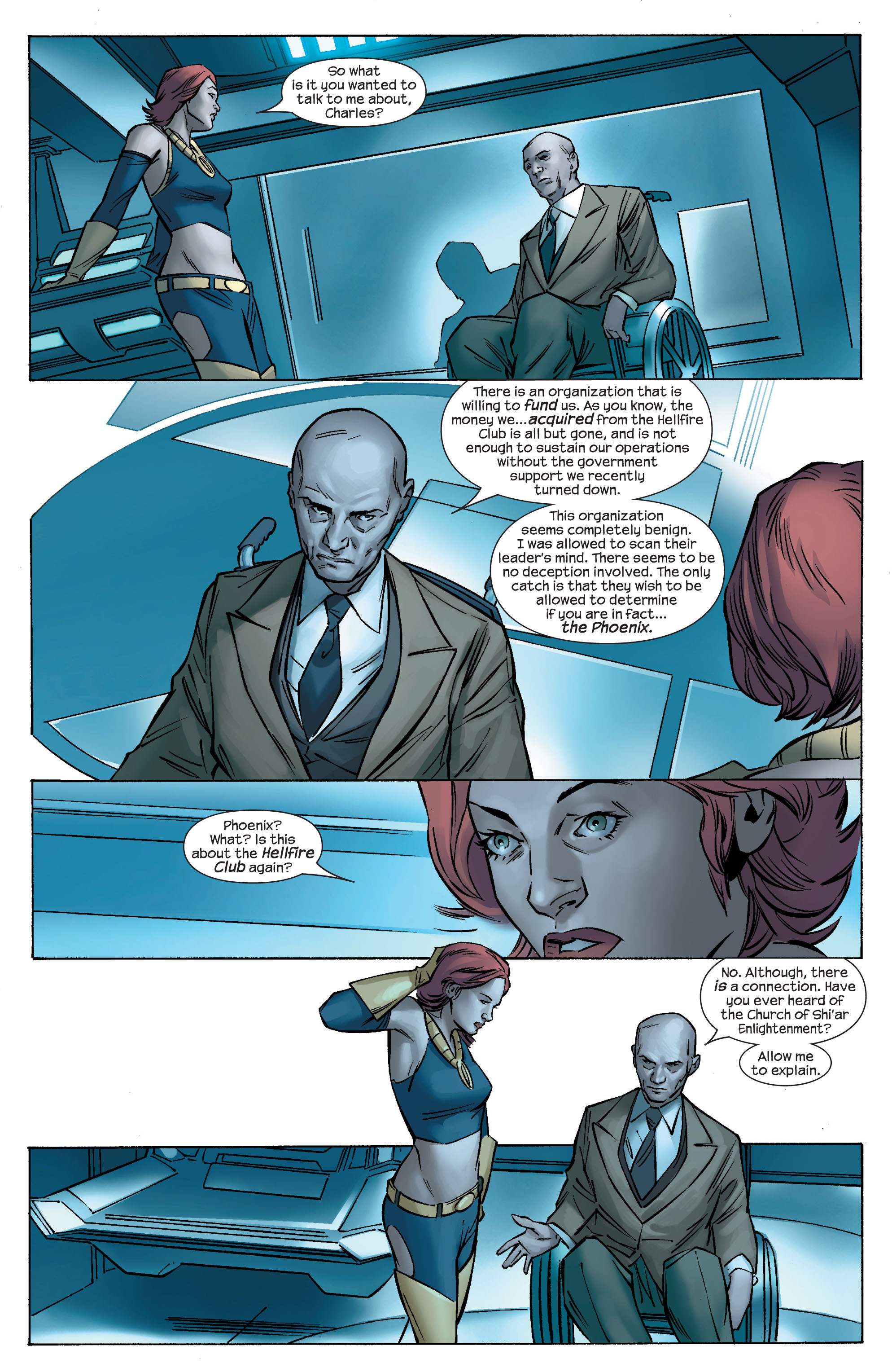 Read online Ultimate X-Men comic -  Issue #69 - 8