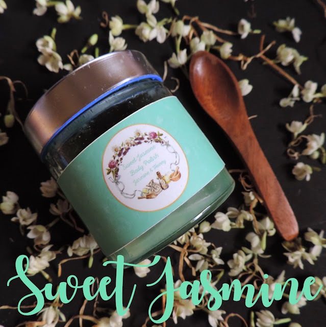 The Herb Boutique Sweet Jasmine Body Polish