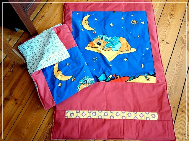 Mini decki refugee relief project finished comfort blankets Puppilalla