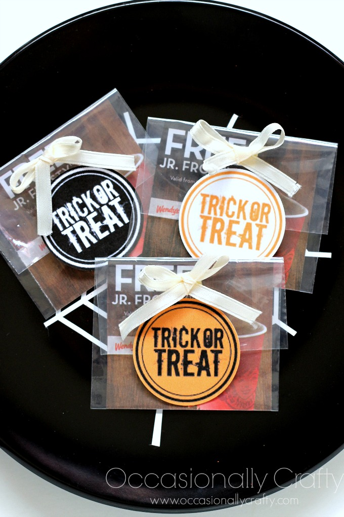 Candy Free Halloween Treat Idea: Free Frosty Coupon!