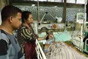 Kondisi Saddam Masih Kritis Di RS.Pelamonia Makassar