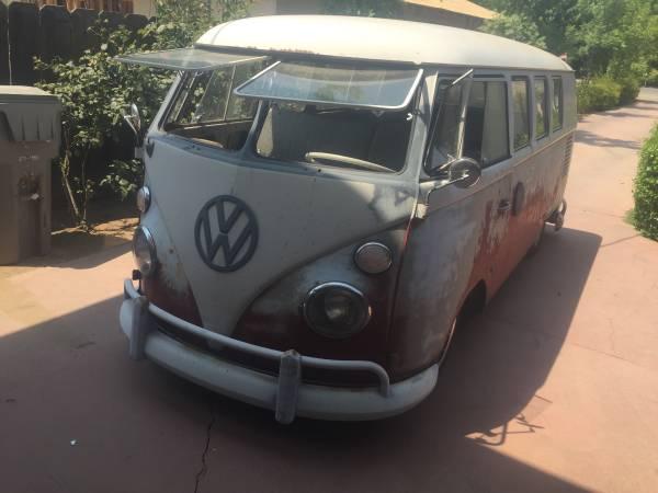 Rust Repair Needed, 1966 Volkswagen Splitscreen