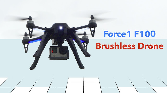 Force F100 Ghost GoPro Drone