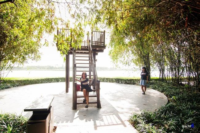 vườn tre công viên yên sở của Gamuda city