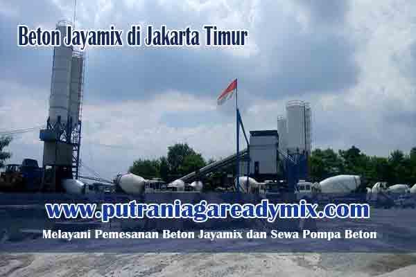 Harga Beton Jayamix Jakarta Timur