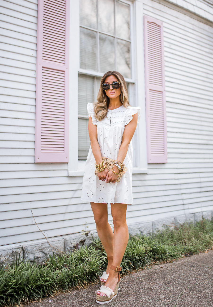 revolve tularosa white hill dress