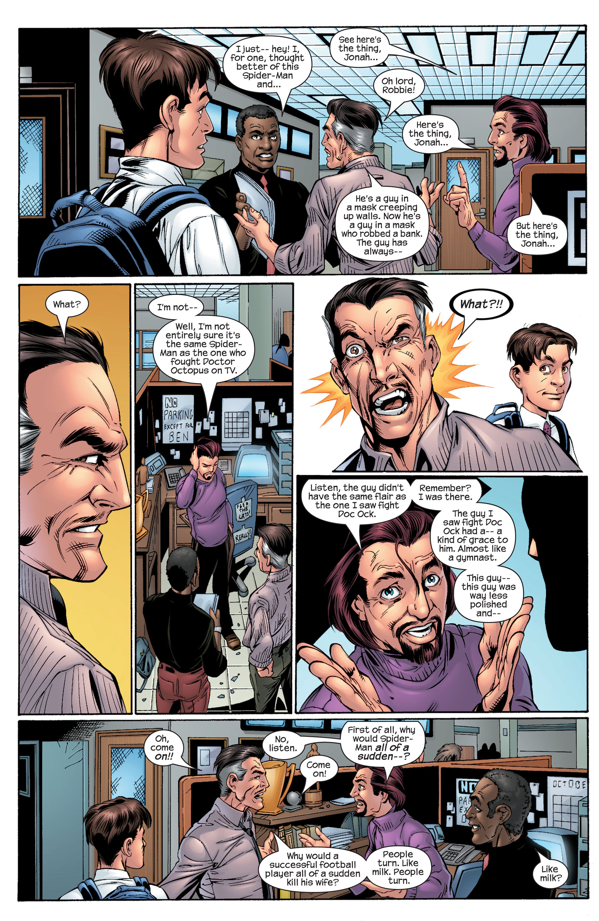 Read online Ultimate Spider-Man (2000) comic -  Issue #29 - 9
