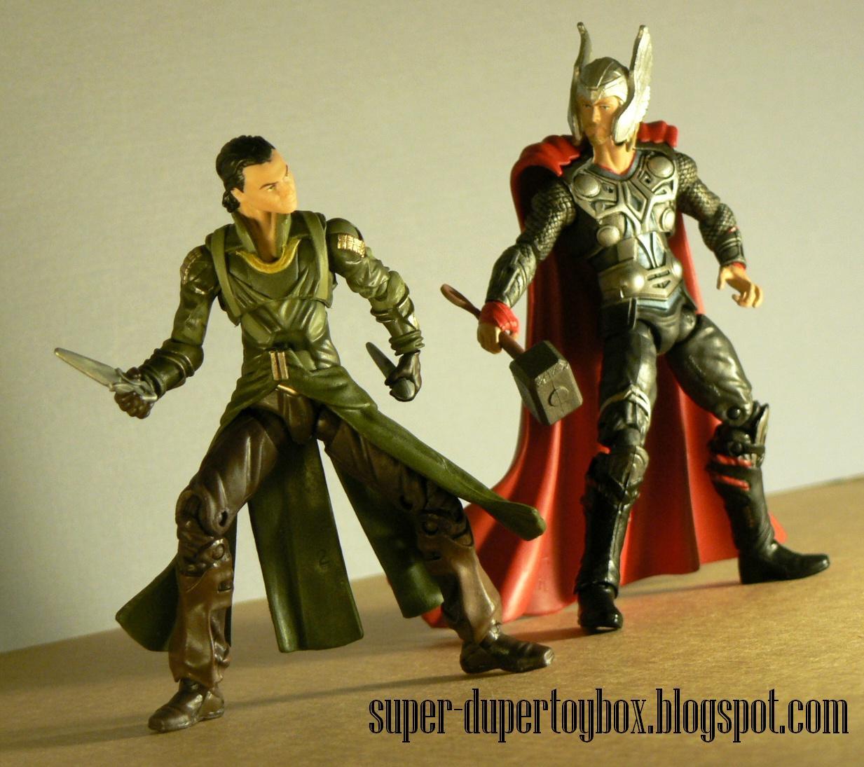 Super-DuperToyBox: Thor Movie Figures: Thor, Odin, & Loki