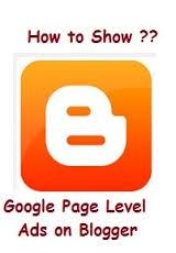 إعلانات مستوى الصفحة لبلوجر