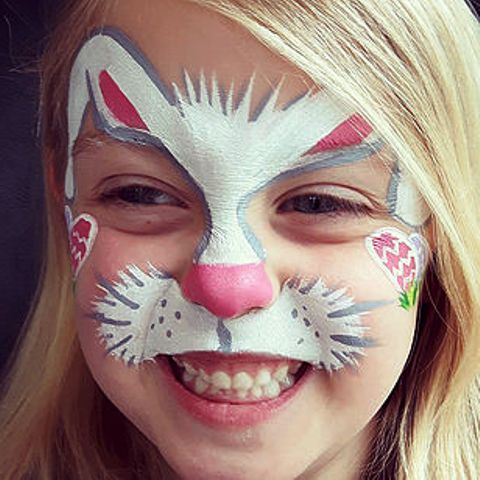 Face Paint Bunny