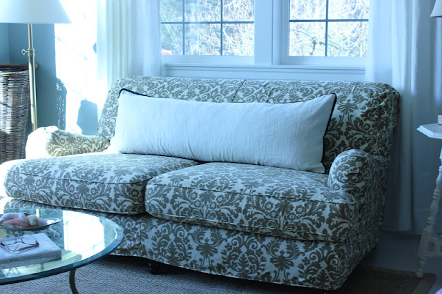 How To Clean My Fabric Sofa Tables Target The Body Pillow....it Does A Couch Good! | Forever*cottage