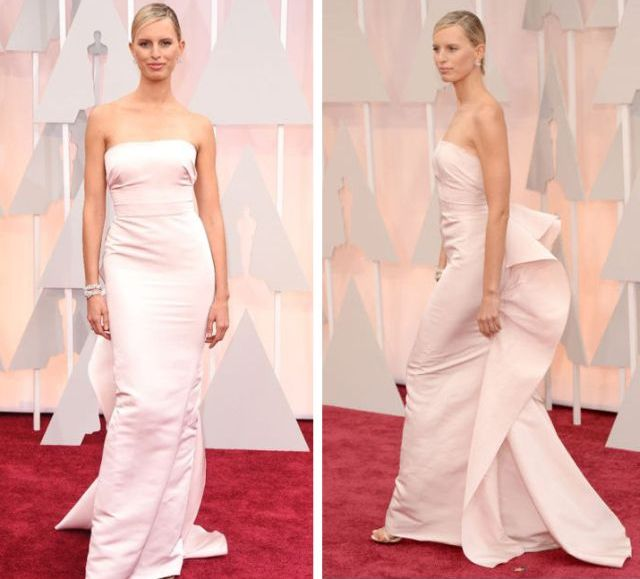 Karolina Kurkova in Marchesa at the Academy Awards 2015
