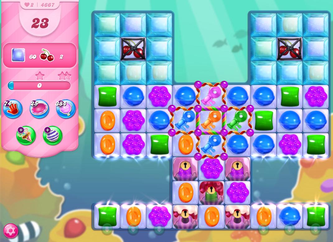 Candy Crush Saga level 4667