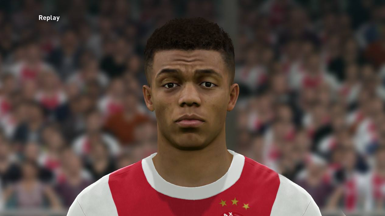 PES 2017 David Neres (( update )) Face by Sameh Momen
