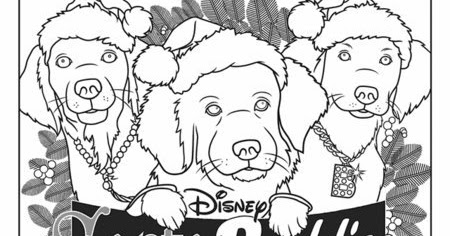 Christmas Puppies Coloring Pages For Kids Gt Gt Disney
