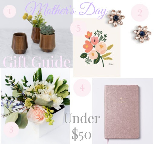 5 Mother's Day Gift Ideas Under $50