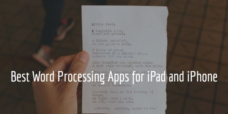 Best word processing apps for iPad & iPhone