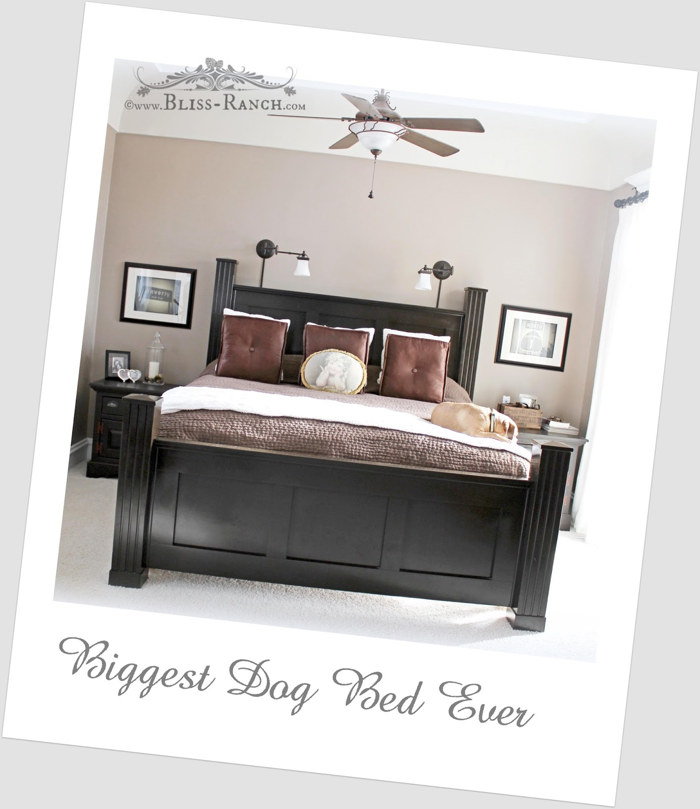 From My Front Porch To Yours- How I Found my Style Sundays-Master Bedroom Custom Bed, Bliss-Ranch.com