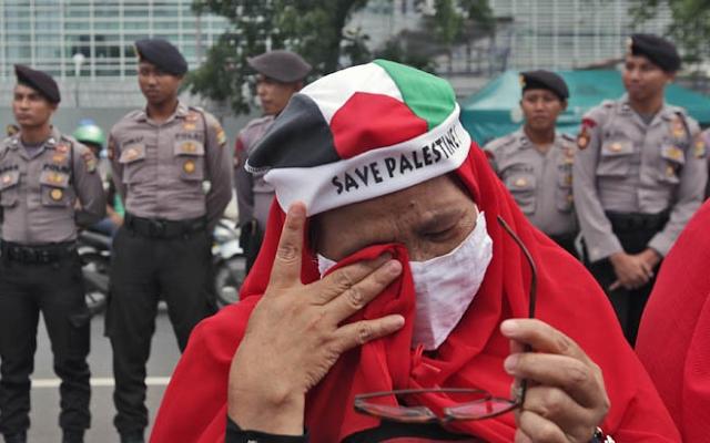 Polisi Siap Pertemukan MUI-Dubes AS Pada Aksi Bela Palestina