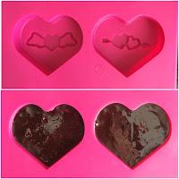 silikon çikolata kalıbı