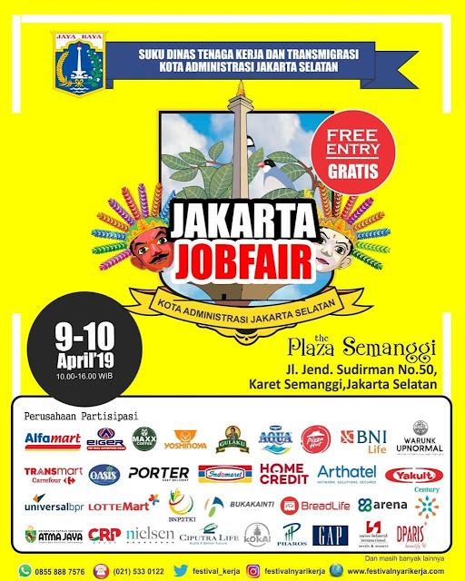 Job Fair DISNAKER di Jakarta