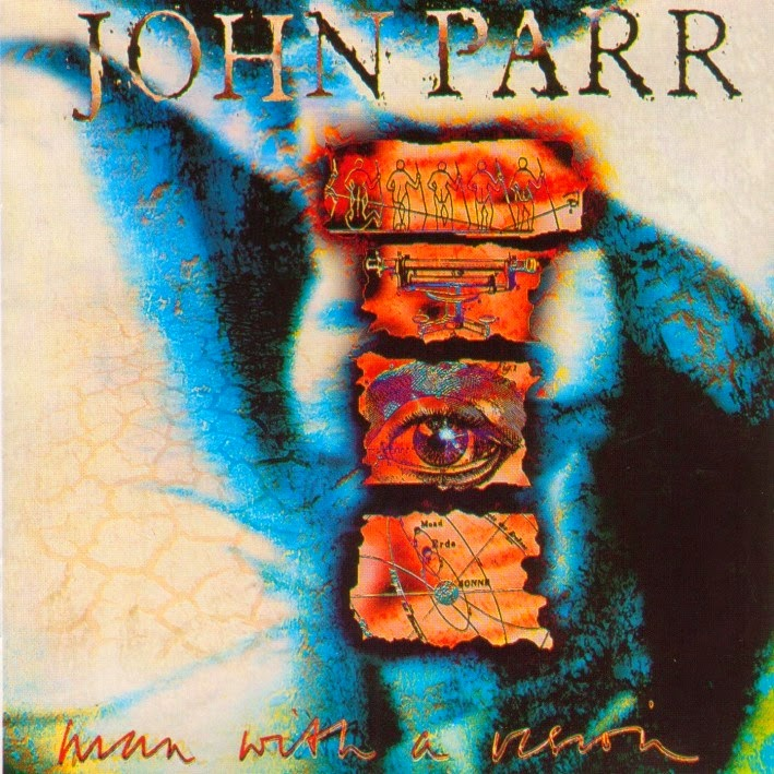 John Parr Man with a vision 1992 aor melodic rock