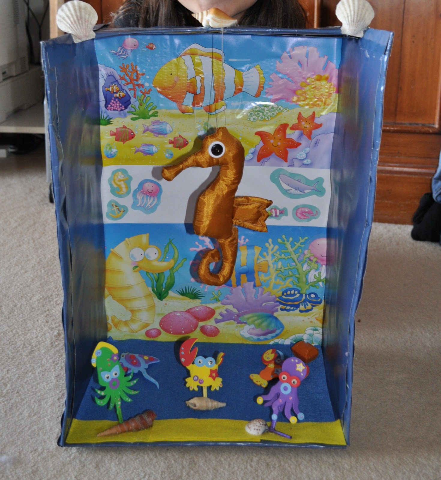 Kids Diorama With Details: Everything Children: Seahorse Diorama