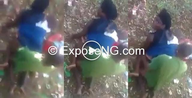 Leak Video Kenyan Woman Caught Having Sex In The Bush -8533