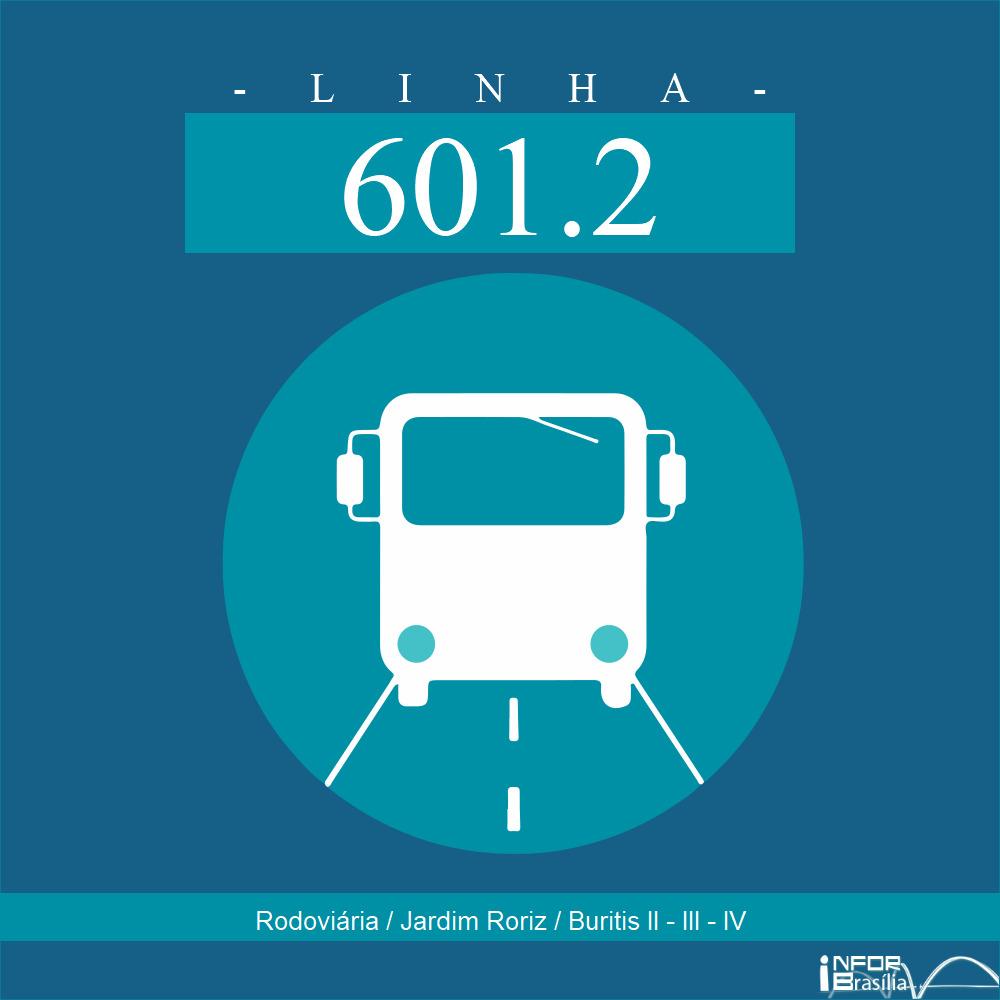 601.2 - RODOVIÁRIA DE PLANALTINA / JARDIM RORIZ / BURITIS II, III, IV