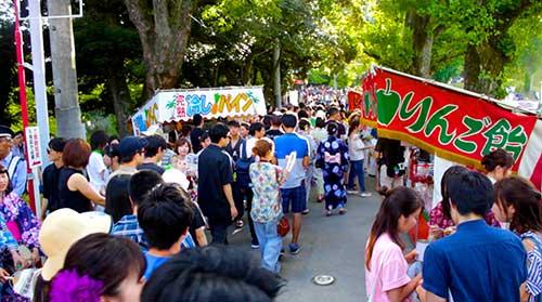 Okazaki Hanabi Festival, Aichi Prefecture.