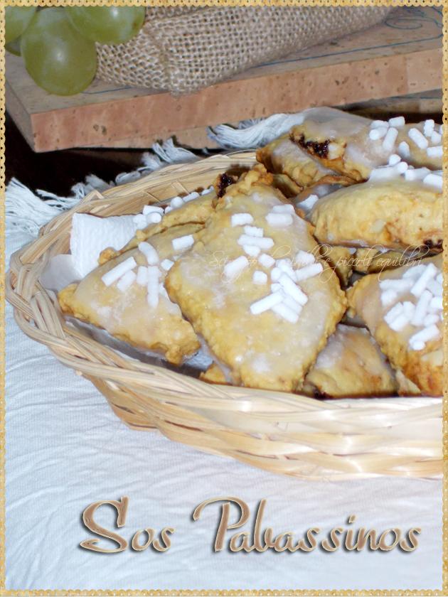 Biscotti con uvetta sardi