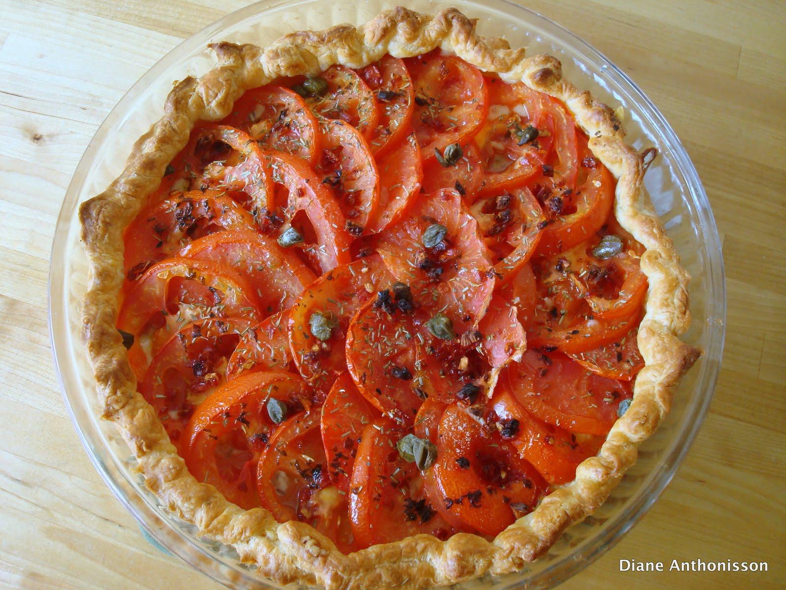 Girl Cook In Paris Tarte Fine A La Tomate Moutarde
