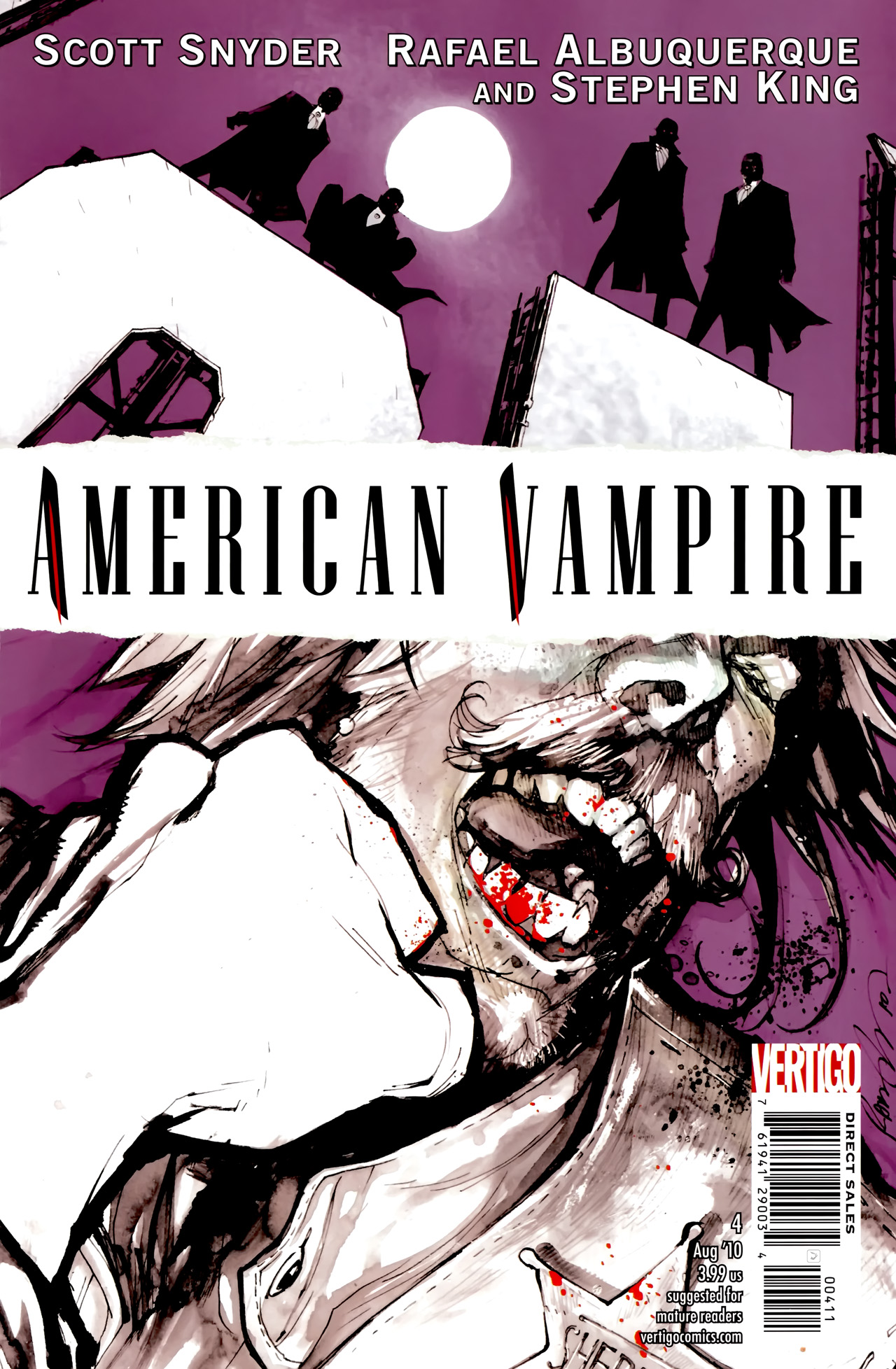 American Vampire issue 4 - Page 1