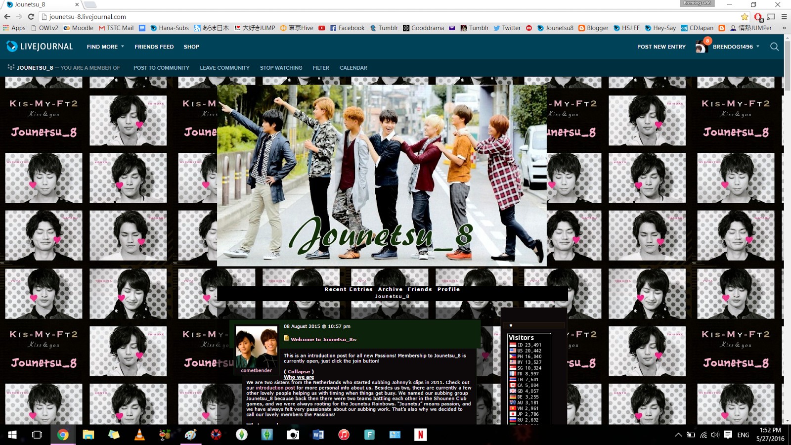 Daisuki Hey! Say! JUMP: [How To] Join LiveJournal Communities