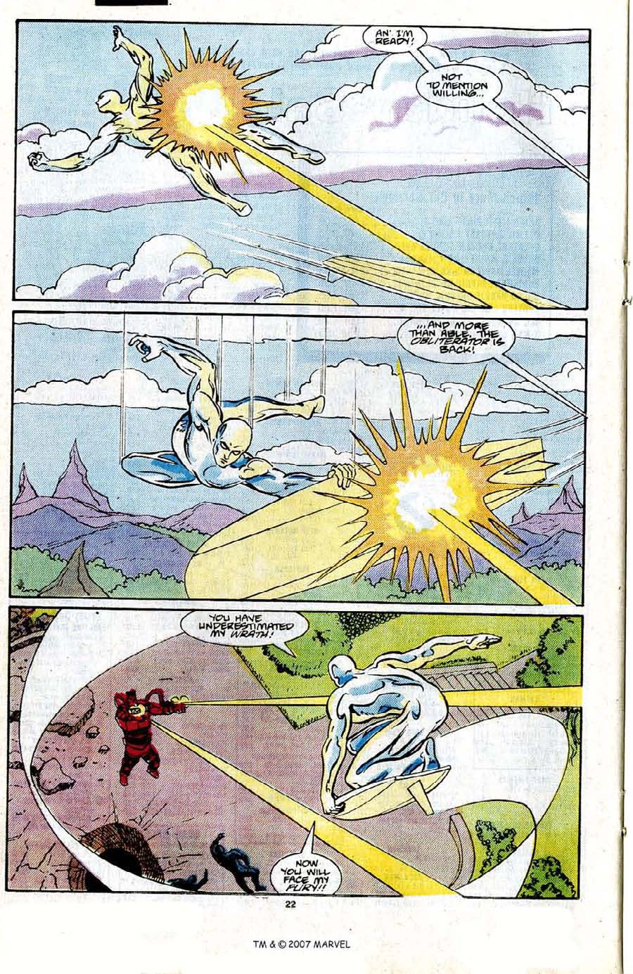 Read online Silver Surfer (1987) comic -  Issue #21 - 24
