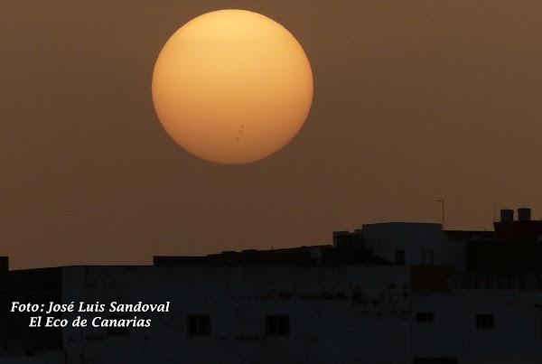 Canarias amanece con calima, 2 marzo