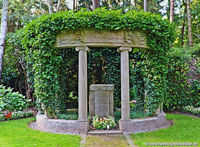 Grabstätte Ohlsdorfer Friedhof Hamburg