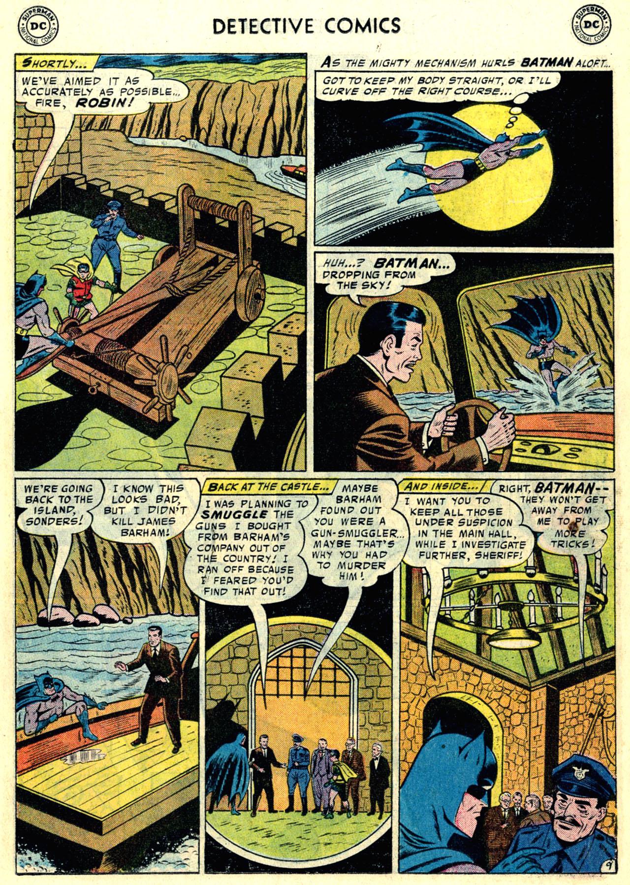 Read online Detective Comics (1937) comic -  Issue #246 - 11