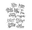 Spellbinders - HAPPY GRAMS #3