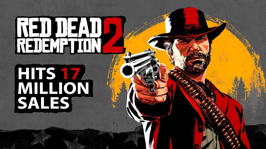 red dead redemption 2 sales 17 million